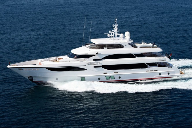 Majesty 135 superyacht UAQ 1