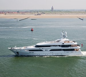 Motor Yacht VOLPINI (ex Larissa) re-launched by AMELS