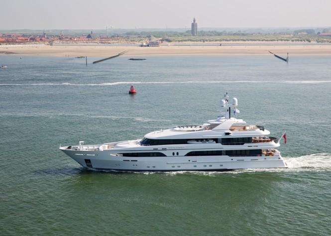 Motor Yacht VOLPINI (ex Larissa) reborn at AMELS