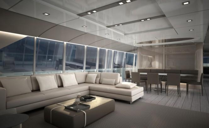 NB 88 Yacht - Saloon