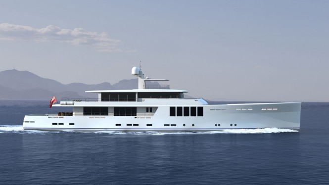 New 164' Explorer Yacht Project by JFA Yachts - Profile