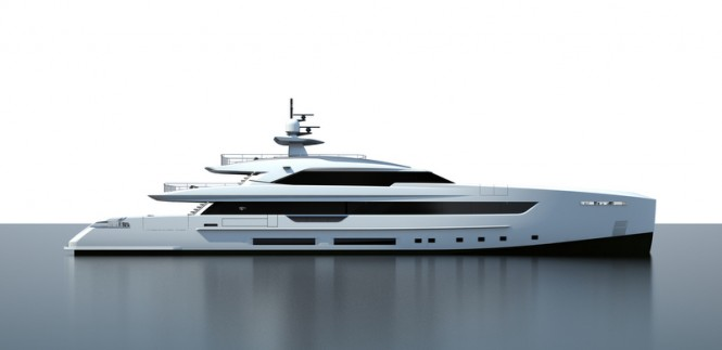 New 50m superyacht S501 project by Tankoa Yachts