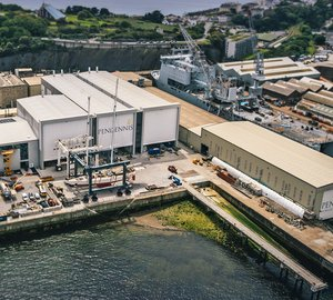 Busy winter superyacht refit season for Pendennis
