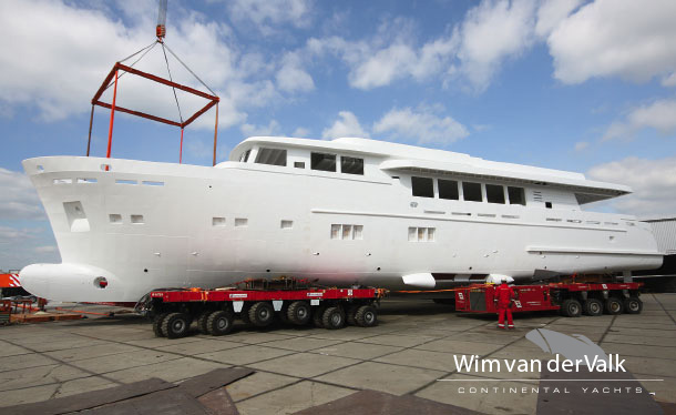 New Wim van der Valk 37m Continental Trawler motor yacht VAGABUNDUS to be equipped with DMS AntiRoll stabilization system