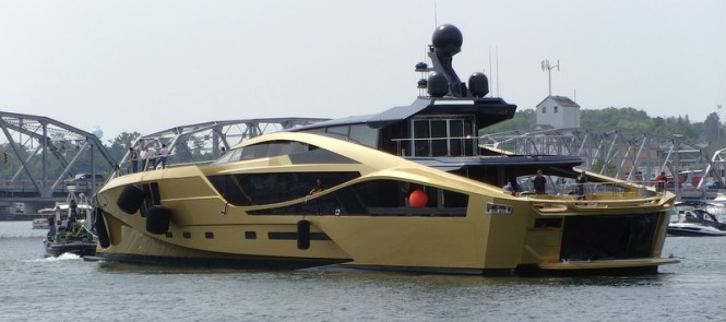 Newly launched 48MSuperSport motor yacht PJ 265 by Palmer Johnson