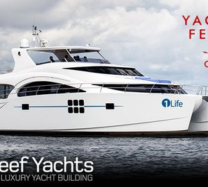 Luxury yachts by Sunreef to be displayed at Cannes Yachting Festival 2014