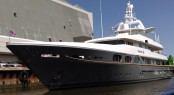 Newly refitted 48m Feadship superyacht Princess Too at ICON Yachts