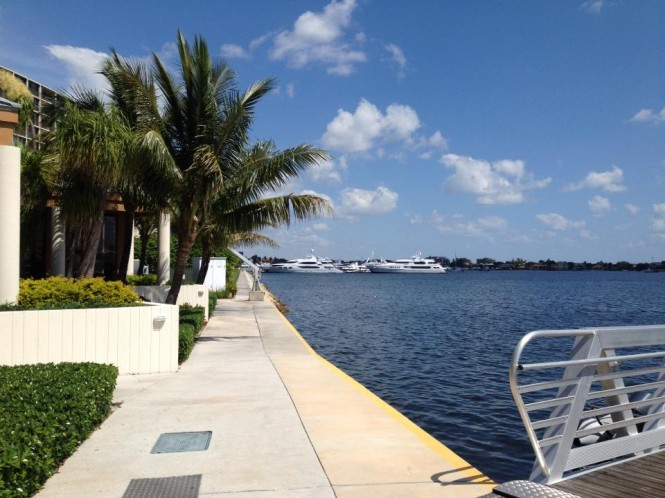 Old Port Cove Marina able to accommodate luxury superyachts measuring up to 200ft in length