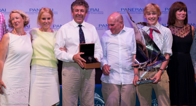 Panerai British Classic Week 2014 Winner - Photo by Guido Cantini / seasee.com