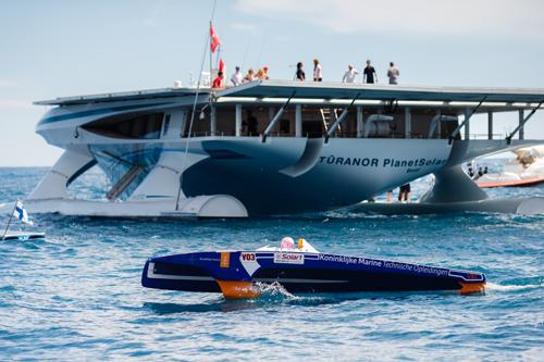 PlanetSolar at Solar1 Monte Carlo Cup