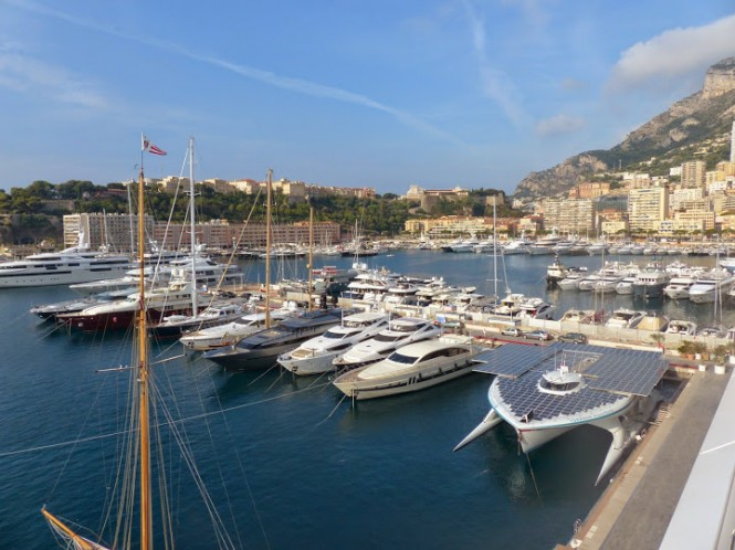 PlanetSolar back in the lovely Mediterranean yacht holiday destination - Monaco