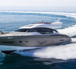 Luxury motor yachts to be displayed by Princess Yachts International at Cannes Yachting Festival 2014