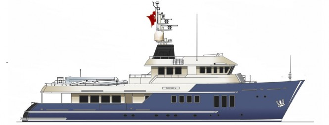 RMK Explorer 120 Yacht designed by Vripack