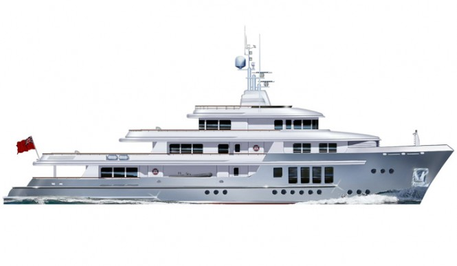 RMK Explorer 175 Yacht designed by Vripack