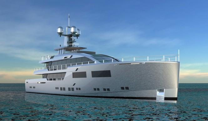 RMK4800 Yacht designed Espen Oeino