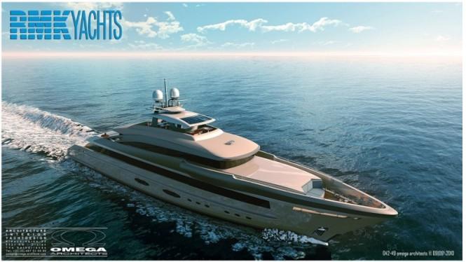 RMK4900 Yacht designed by Omega Architects