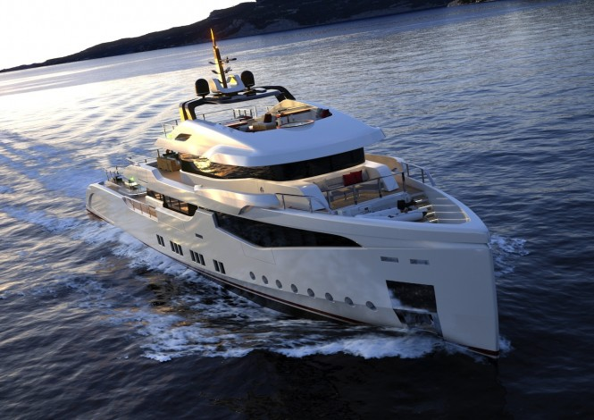 RMK5000 Yacht designed by Hot Lab