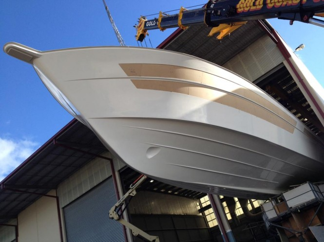 Riviera 75 Enclosed Flybridge motor yacht Hull no. 3