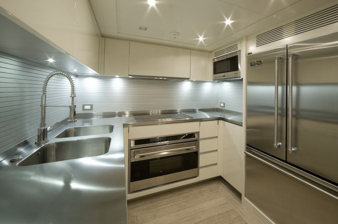 Sanlorenzo SD92 yacht ONE MY WAY - galley