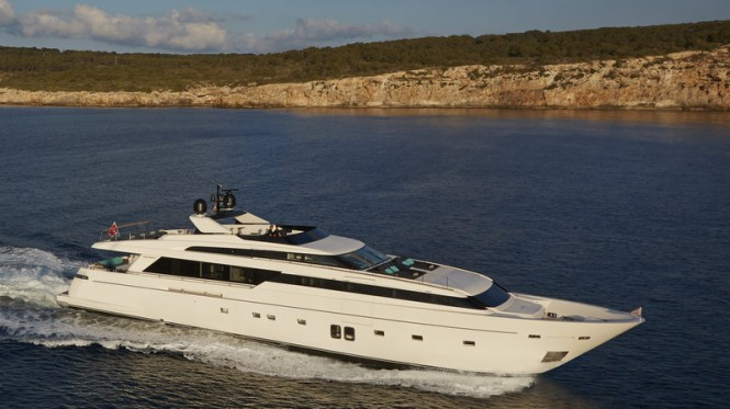 Sanlorenzo SL118 Yacht H1