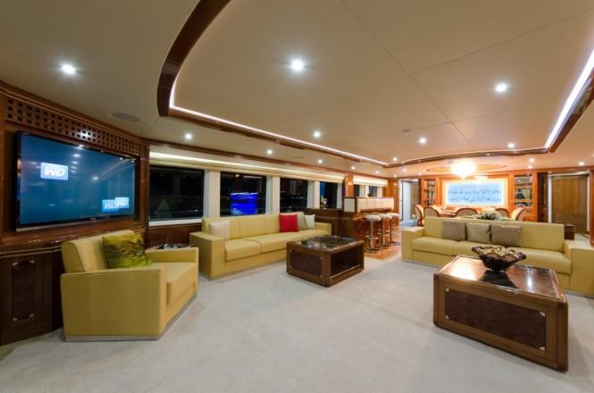 Sehamia Yacht - Main Saloon