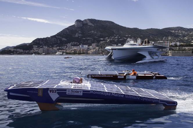 Solar1 Monte Carlo Cup and PlanetSolar @Franck Terlin