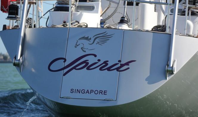 Spirit Yacht - aft view