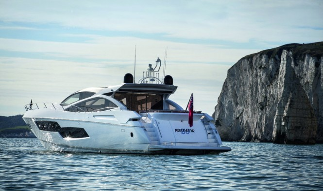 Sunseeker Predator 80 Yacht to be displayed at Sydney International Boat Show 2014