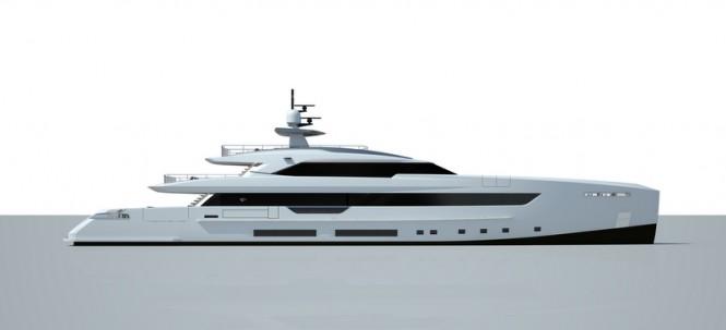 Super yacht S501 project by Tankoa Yachts