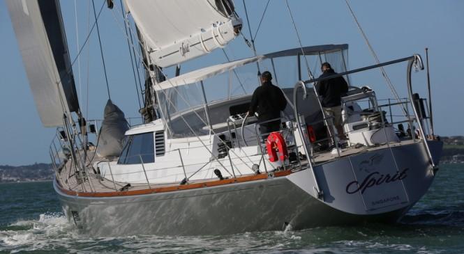 Super yacht Spirit - aft view
