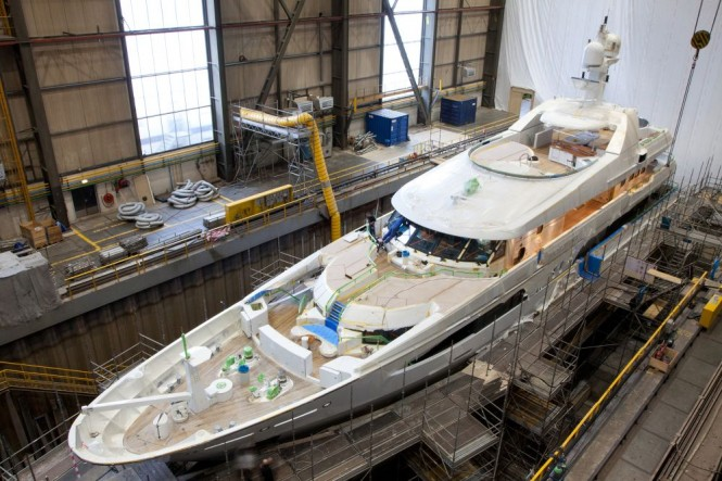 Super yacht VOLPINI reborn at AMELS