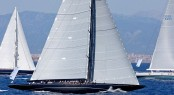 Superyacht Lionheart under sail - Photo credit to Claire Matches