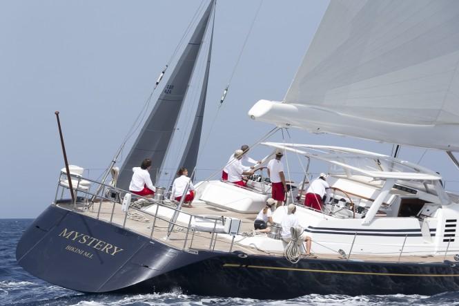 Swan 112 charter yacht Mystery
