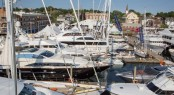 The 2014 Newport Charter Yacht Show featured a lineup of 27 world-class charter yachts, all available in New England this summer.
