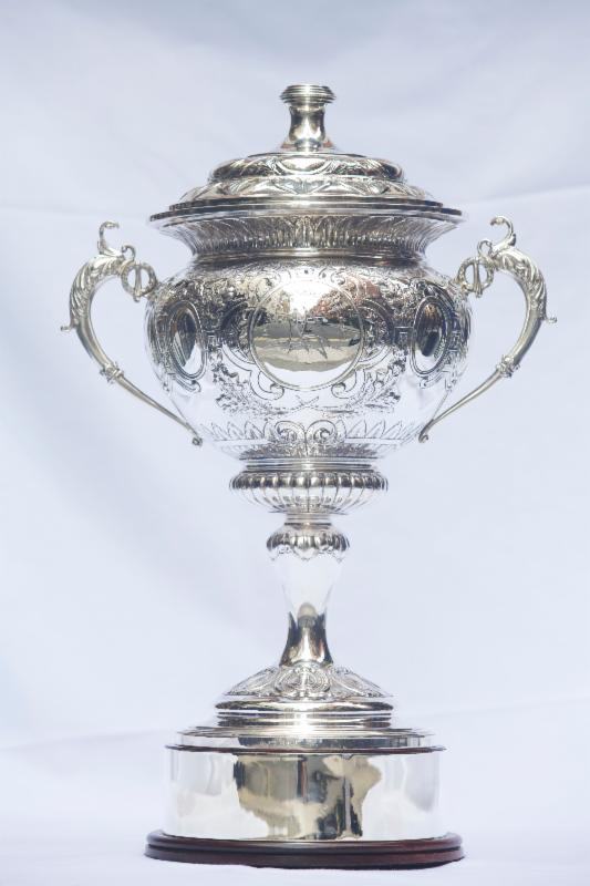 The magnificent 1928 antique sterling silver trophy will be presented to the first ever winner of the RORC Transatlantic Race under RORC's IRC rating system. The RORC Transatlantic Race starts on 29th November 2014 from Lanzarote and finishes in Grenada Credit: RORC/onEdition