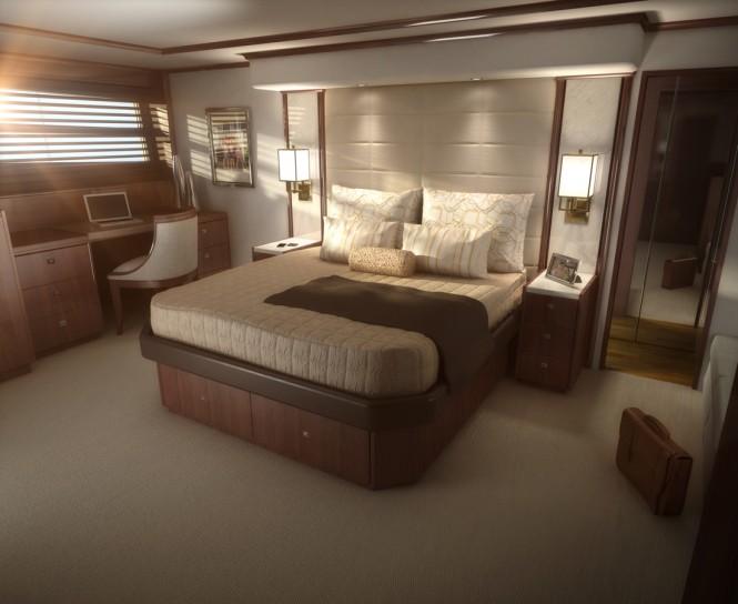 Viking 75 Yacht - Cabin