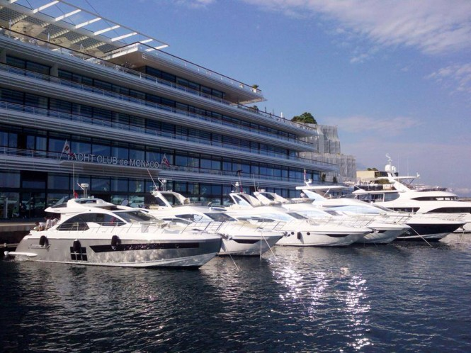 Yachts at the Azimut|Benetti Yachting Gala 2014