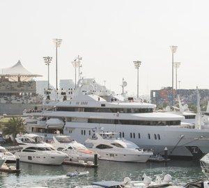 C&N's Yas Marina in Abu Dhabi preparing for 2014 F1 Race Week