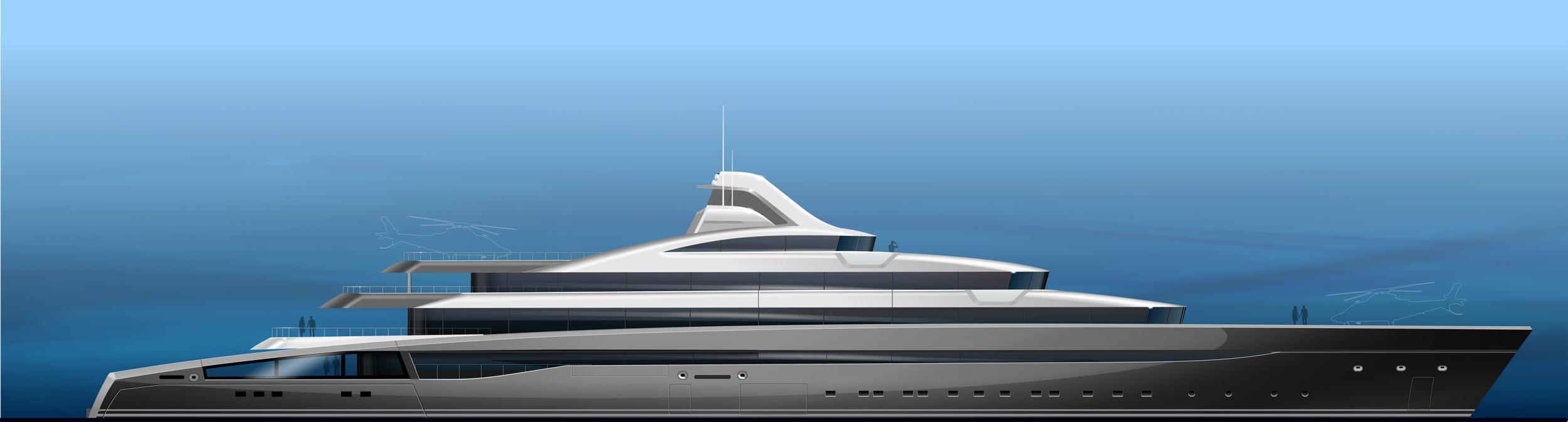 Castro Yacht 120m Tony Castro Yacht Concept