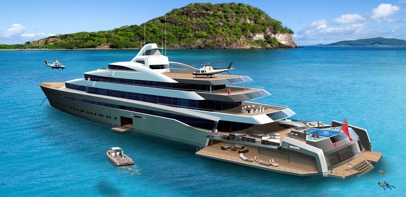 Castro Yacht 120m Tony Castro Mega Yacht