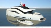 35m superyacht Ulfberht concept by Sigmund Yacht Design