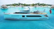 42m super yacht Another Dimension concept by Dennis Ingemansson