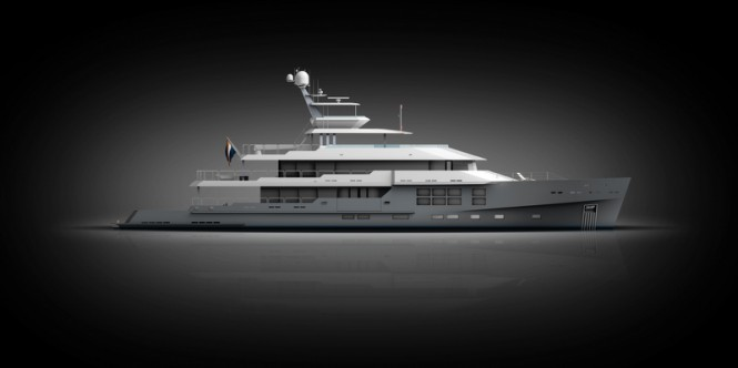 50m Motor Yacht by McMullen and Wing