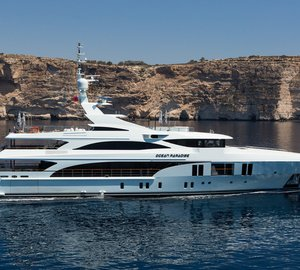 55m Benetti motor yacht OCEAN PARADISE – the biggest yacht to be displayed at Cannes Yachting Festival 2014