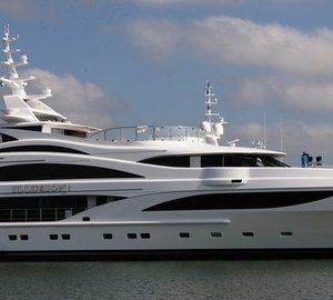 Newly launched Benetti motor yacht ILLUSION I (FB257) to make her world premiere at MYS 2014