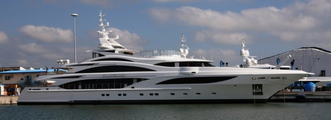 58m Benetti super yacht Illusion I (FB257)
