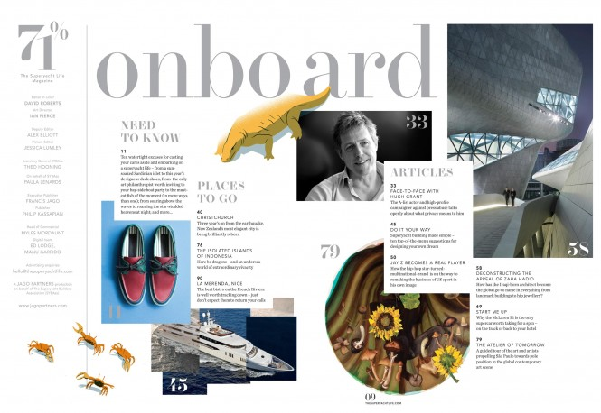 71% - The Superyacht Life Magazine - Contents