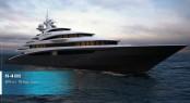 84m Oceanco mega yacht White Star concept designed by Venetian Design