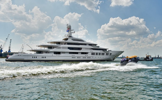 88,5m mega yacht Y710 by Oceanco