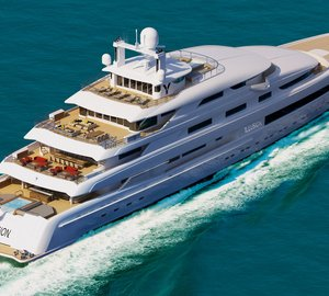 Sale of 88,8m ILLUSION yacht announced by Pride Mega Yachts